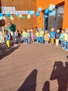 dzień przedszkolaka na tarasie