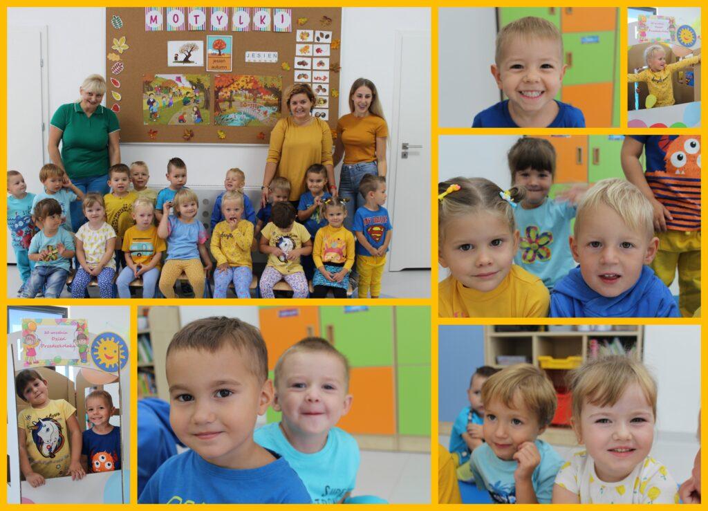 kolaż zdjęć z imprezy Dzień Przedszkolaka