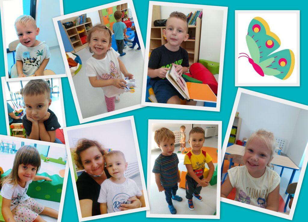 grafika kolaż zdjęć dzieci