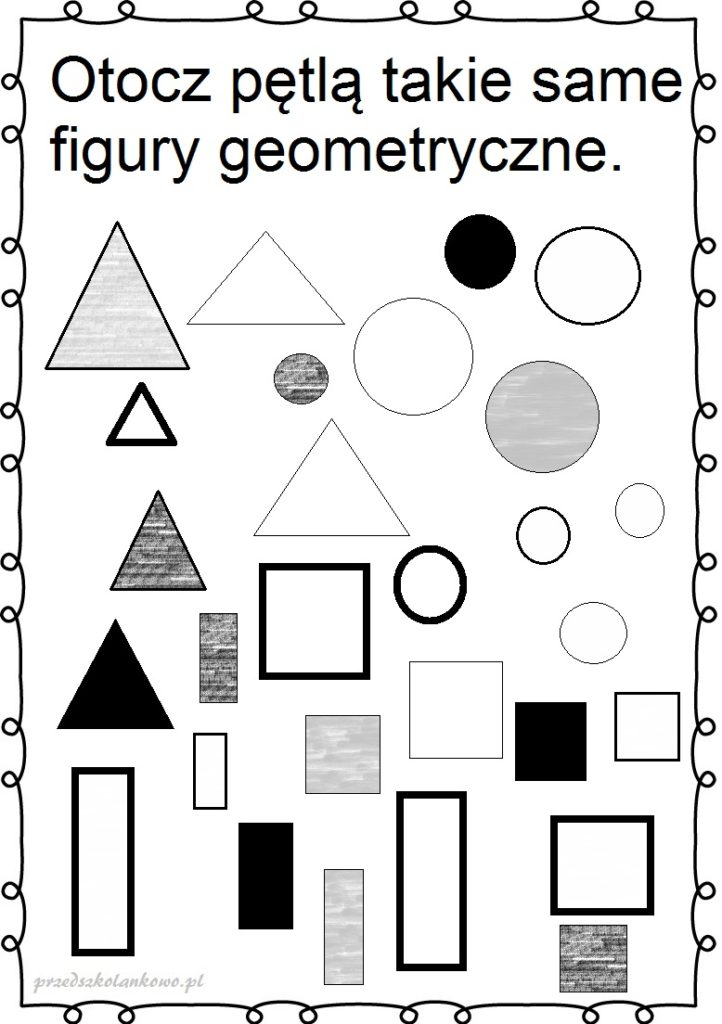 grafika przedstawiająca figury geometryczne