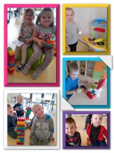 dzieci bawią się w sali