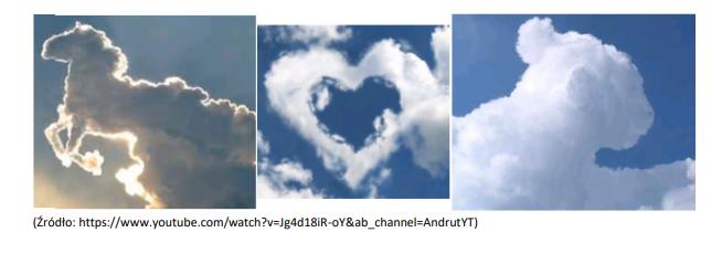 zdjęcia chmur