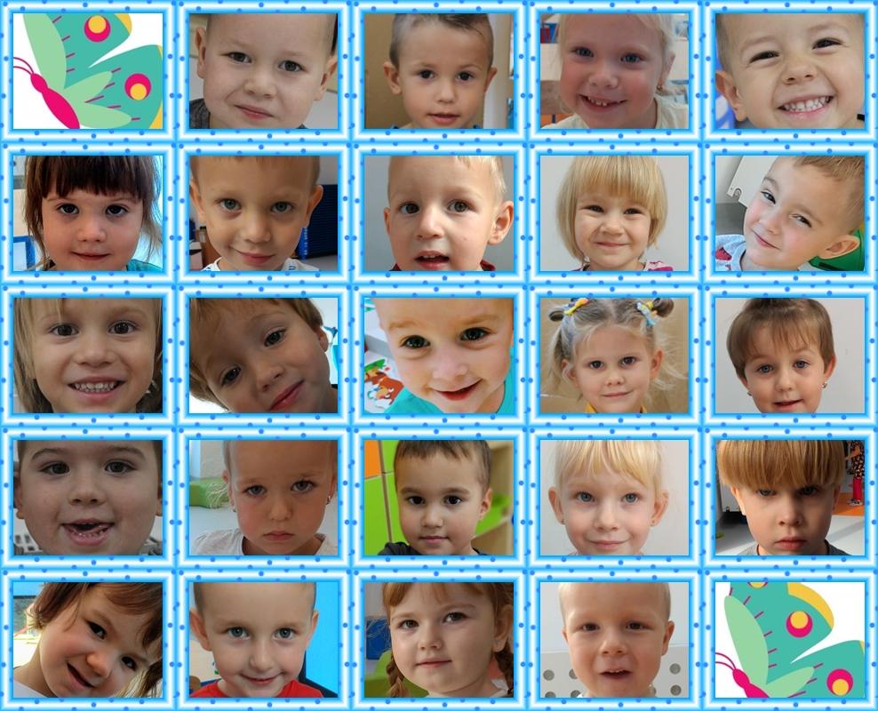 kolaż zdjęć dzieci