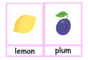 obrazek cytryny i śliwki