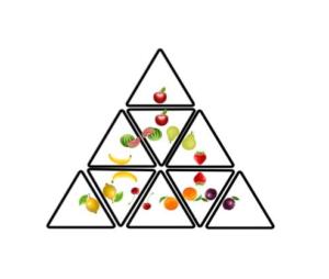 obrazek przedstawiający piramidę owoców