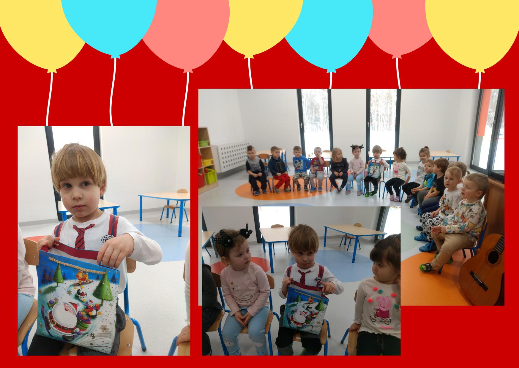 kolaż zdjęć z urodzin