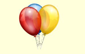 grafika baloniki