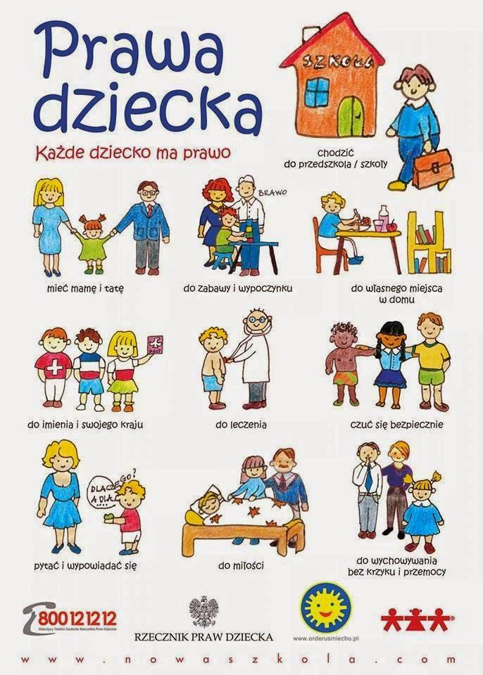 plakat prawa dziecka Rzecznik Praw Dziecka