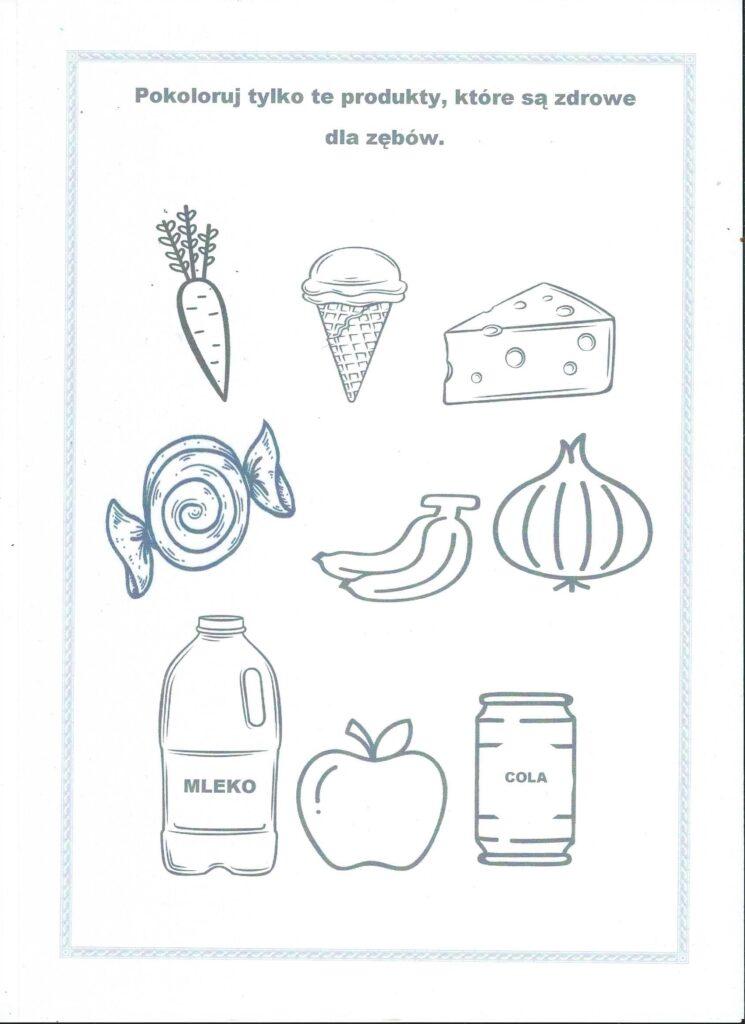 karta pracy zdrowa żywność