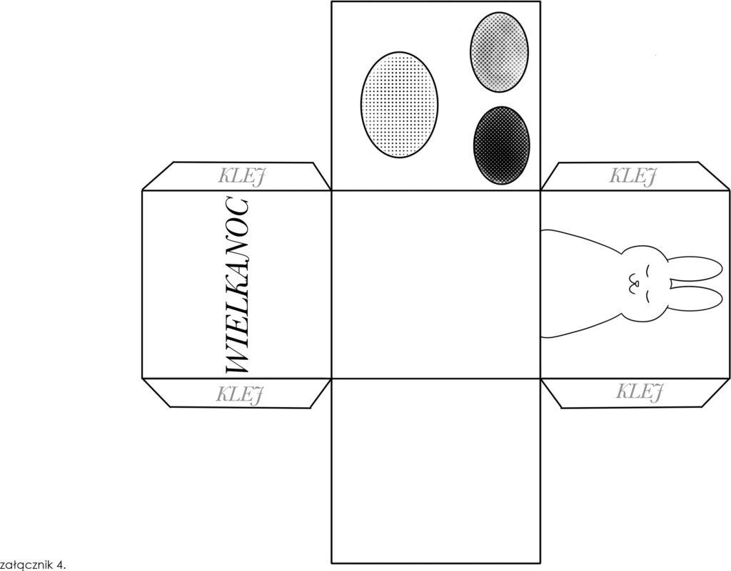 grafika pudełko do złożenia