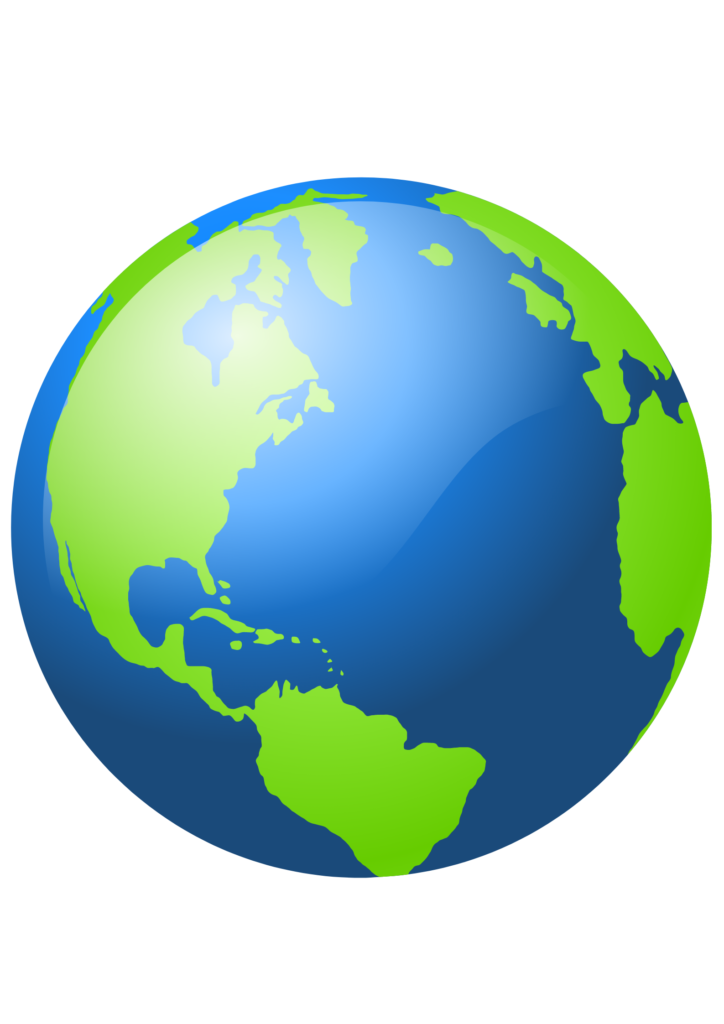 grafika planeta Ziemia