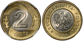 grafika moneta 2 zł