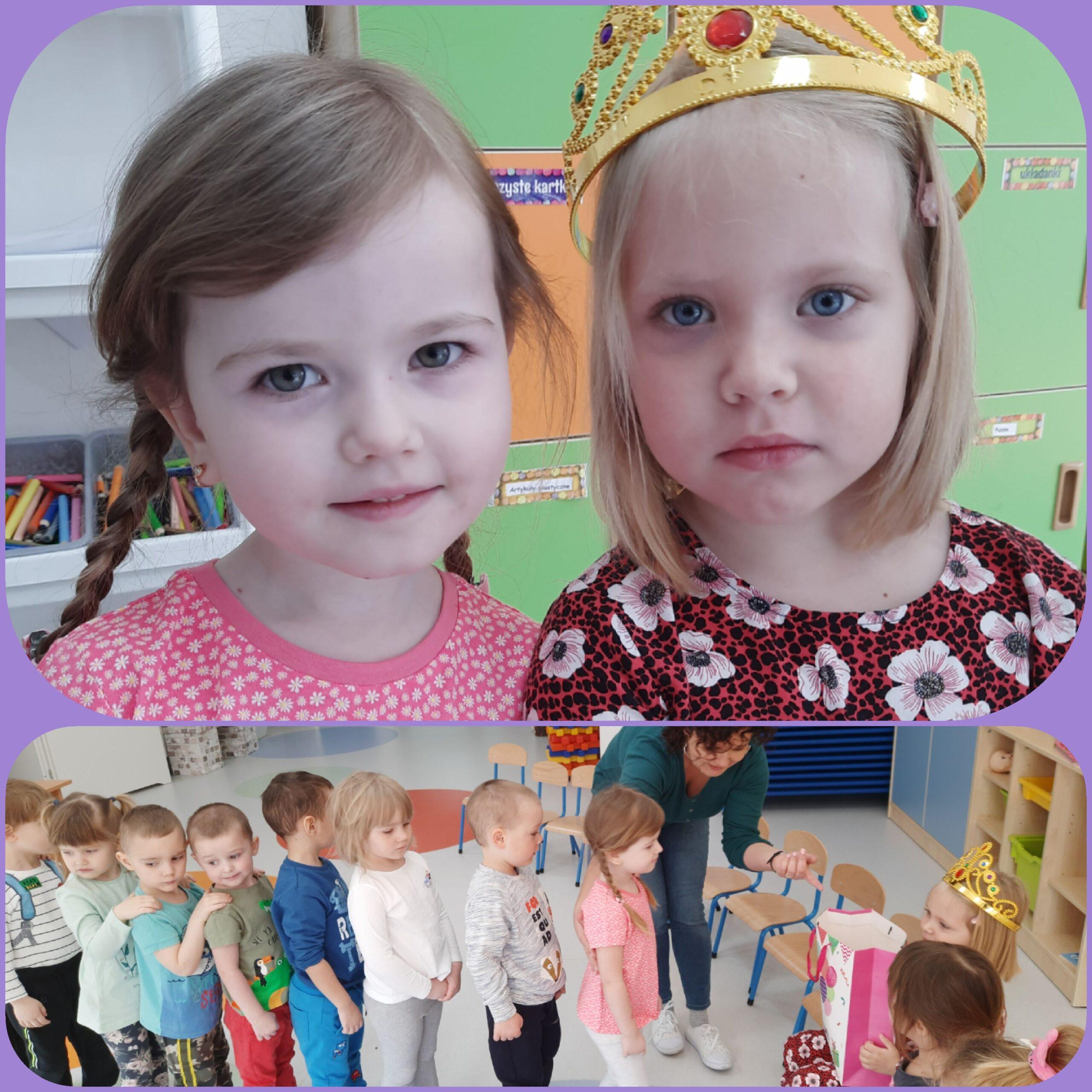 dzieci podczas urodzin