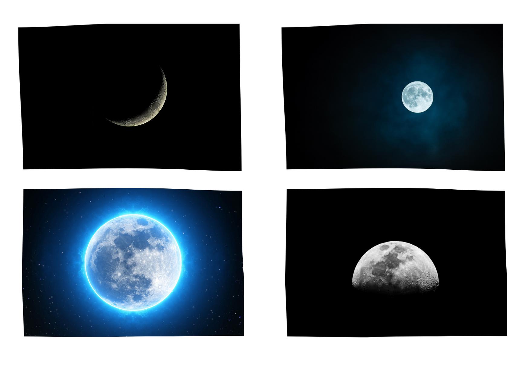 zdjęcie kolaż ksieżyc