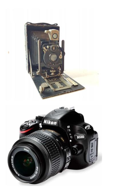 grafika aparaty fotograficzne