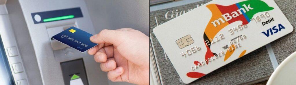 zdjęcie karta do bankomatu