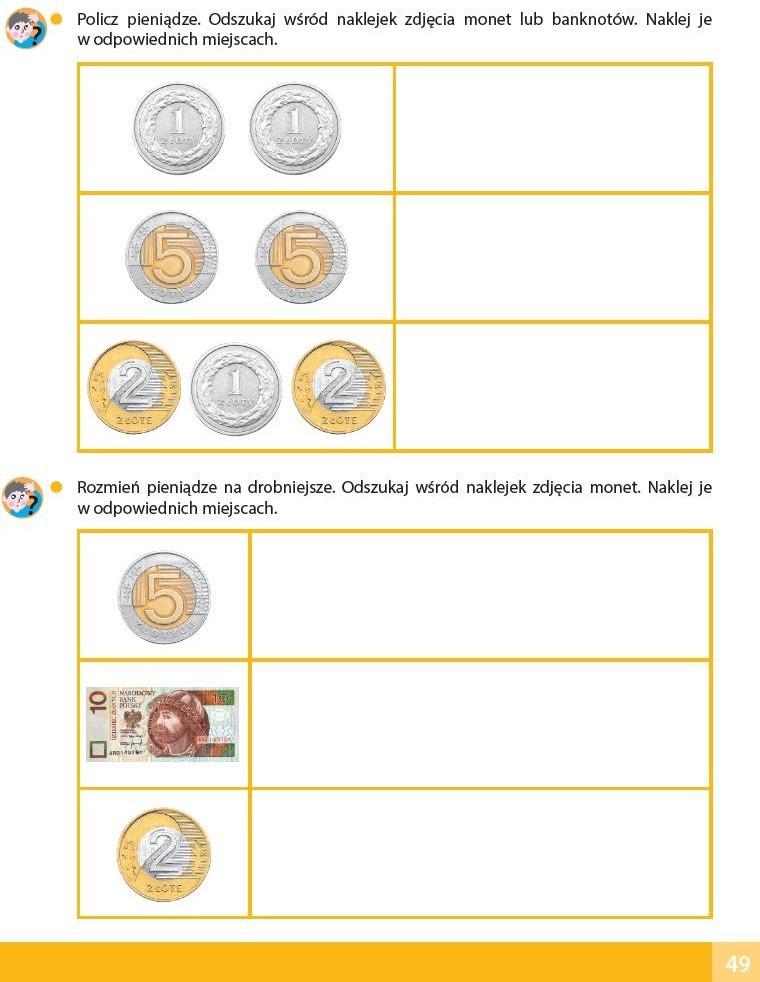 karta pracy pieniądze