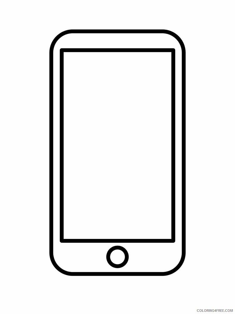 kolorowanka smartfon