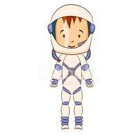 grafika kosmonauta