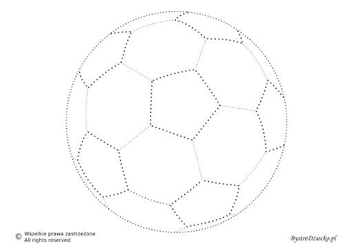 kolorowanka piłka