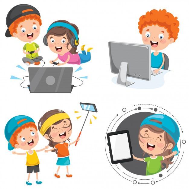 grafika dzieci