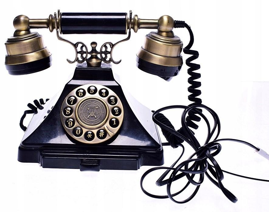grafika telefon w dawnych czasach