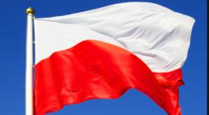 zdjęcie przedstawiające flagę Polski
